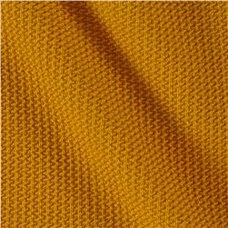 Paola Pique Knit Mustard