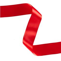 "1 1/2"" Offray Double Face Satin Ribbon Red"