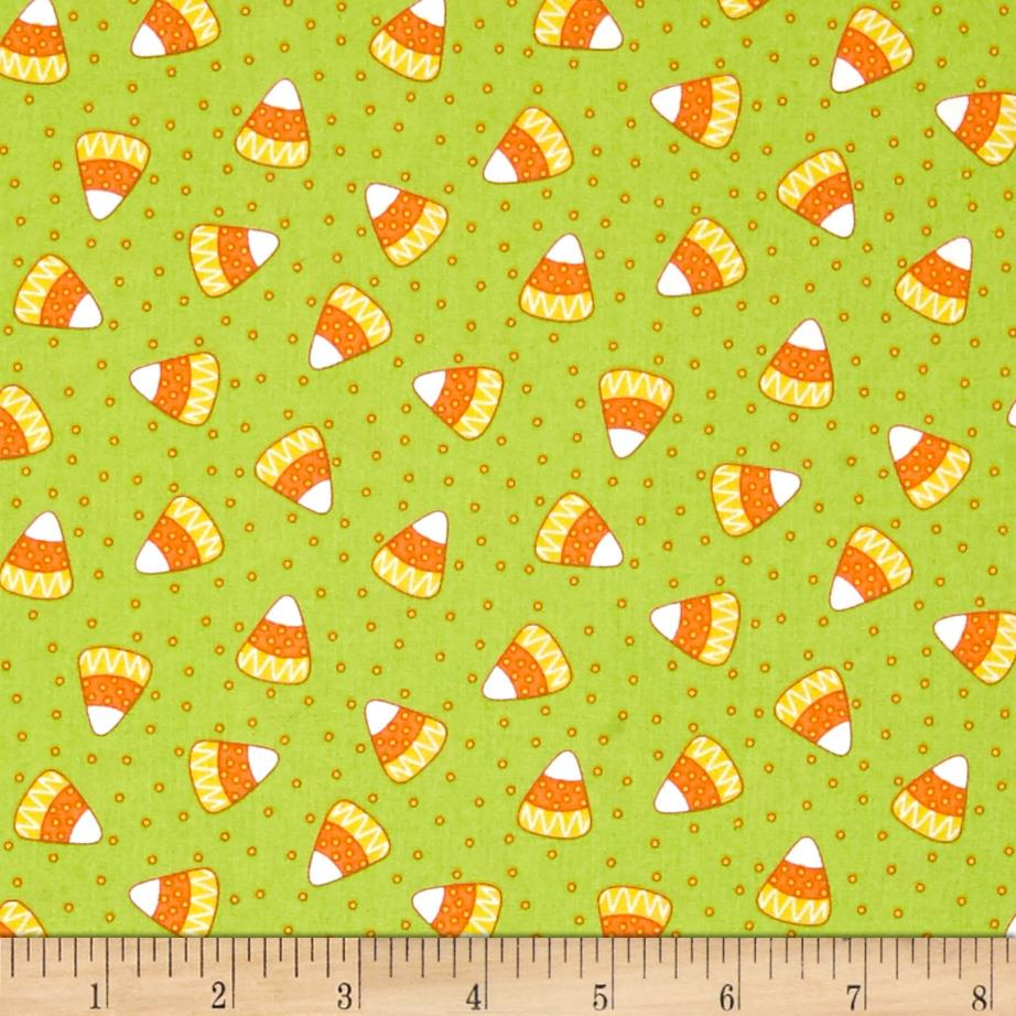 Mind Your Mummy Candy Corn Green