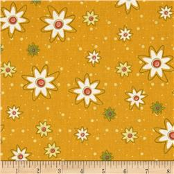 Marmalade Cottage Daisies All Over Yellow