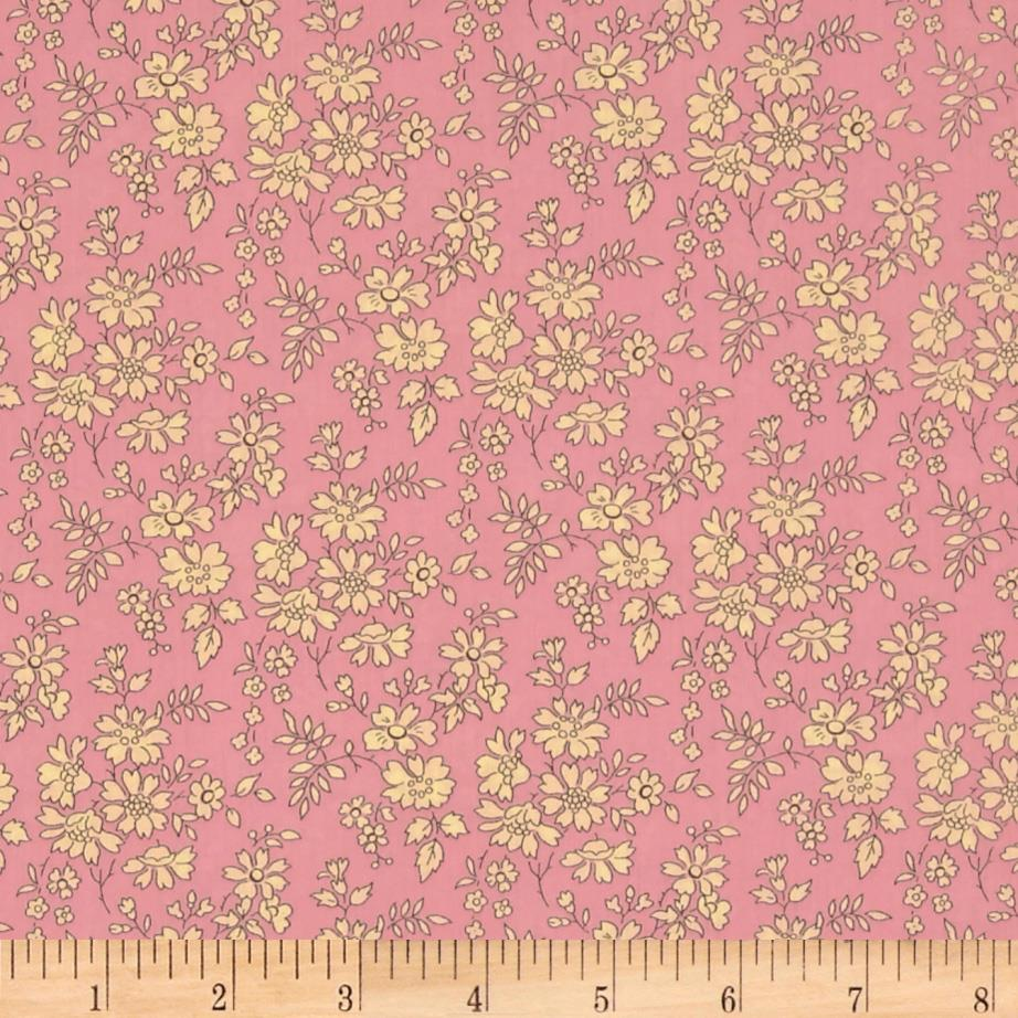 Liberty Of London Tana Lawn Capel Light Pink/White