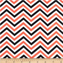 Halloween Basics Chevron Multi