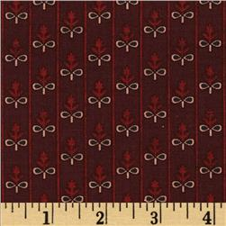 Penny Rose Civil War Miniatures Ribbon Red