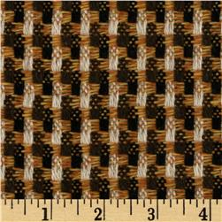Boucle Coating Plaid Orange/Brown
