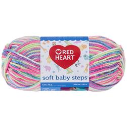 Red Heart Yarn Soft Baby Steps 9937 Giggle