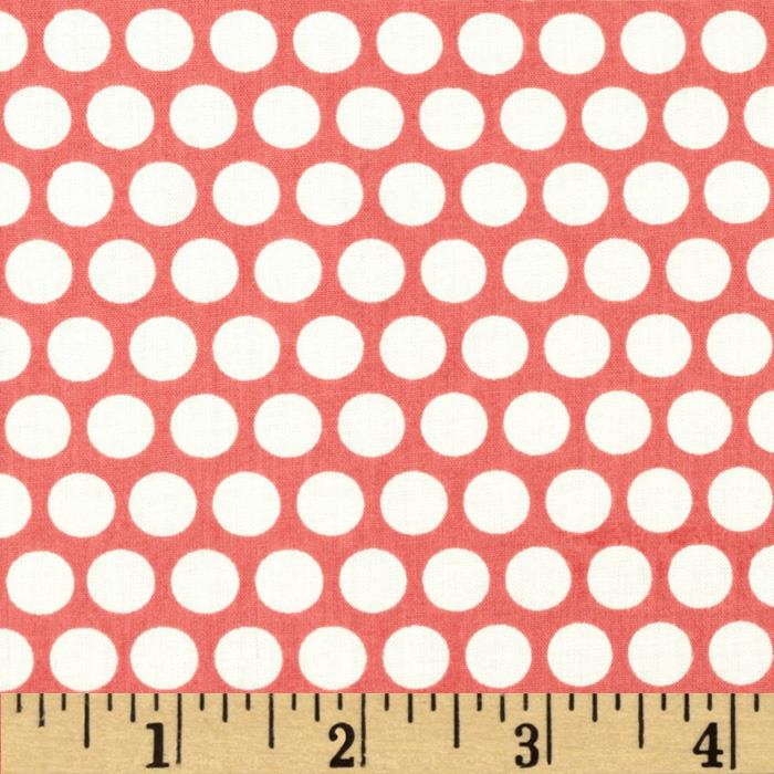 Birch Organic Mod Basics Dottie One Coral