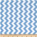 Riley Blake Medium Small Chevron Blue