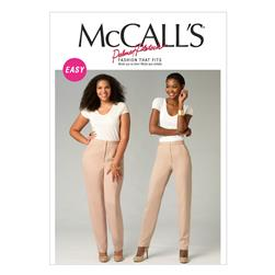 McCall's Misses'/Women's Pants Pattern M6901 Size OSZ