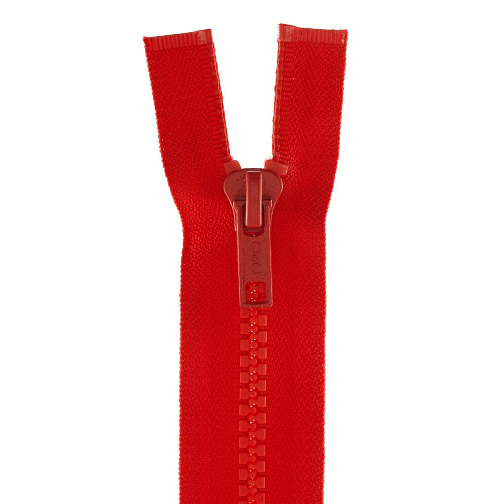 "Coats & Clark Sport Separating Zipper 28"" Atom Red"