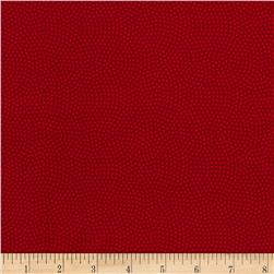 "Timeless Treasures 108"" Extra Wide Spin Dot Berry"