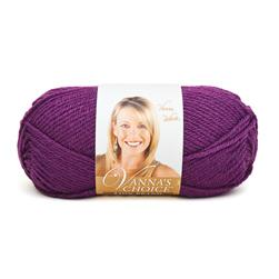 Lion Brand Vanna's Choice Yarn (145) Eggplant