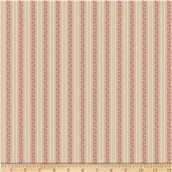 Riley Blake Raspberry Parlour Stripe Pink Fabric