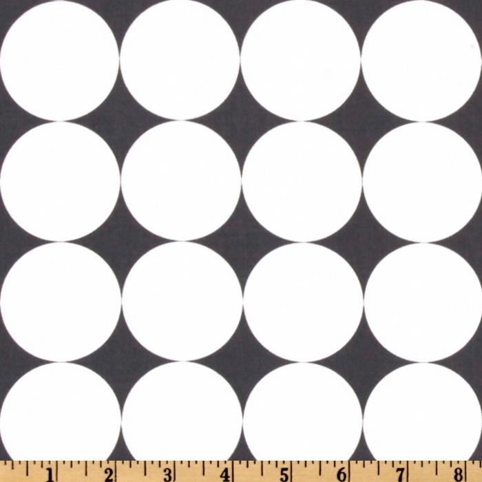 Michael Miller Disco Dot Charcoal