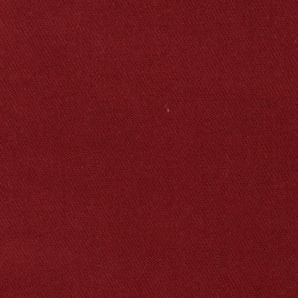 Stretch Wool Blend Serge Cardinal Fabric by Carr in USA