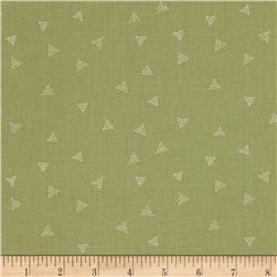 Dear Stella City Life Triangle Dot Olive