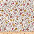 Liberty Of London Tana Lawn Floral Fusion White/Yellow/Pink