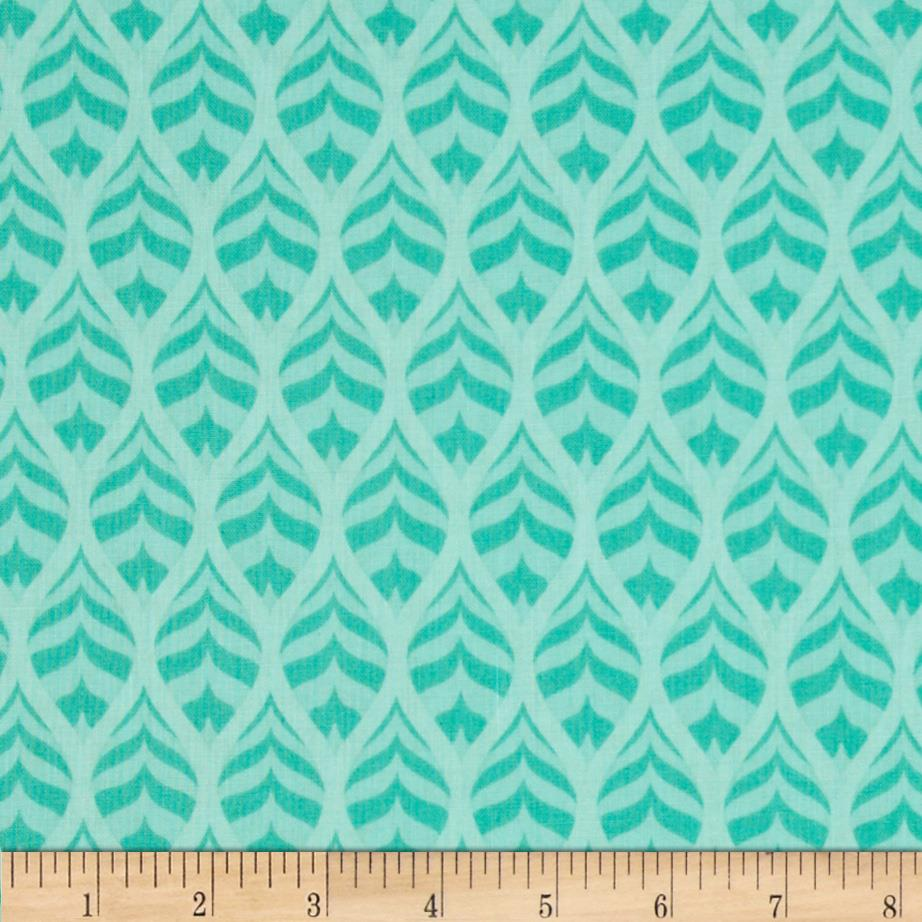 Mint To Be Herringbone Ogee Mint