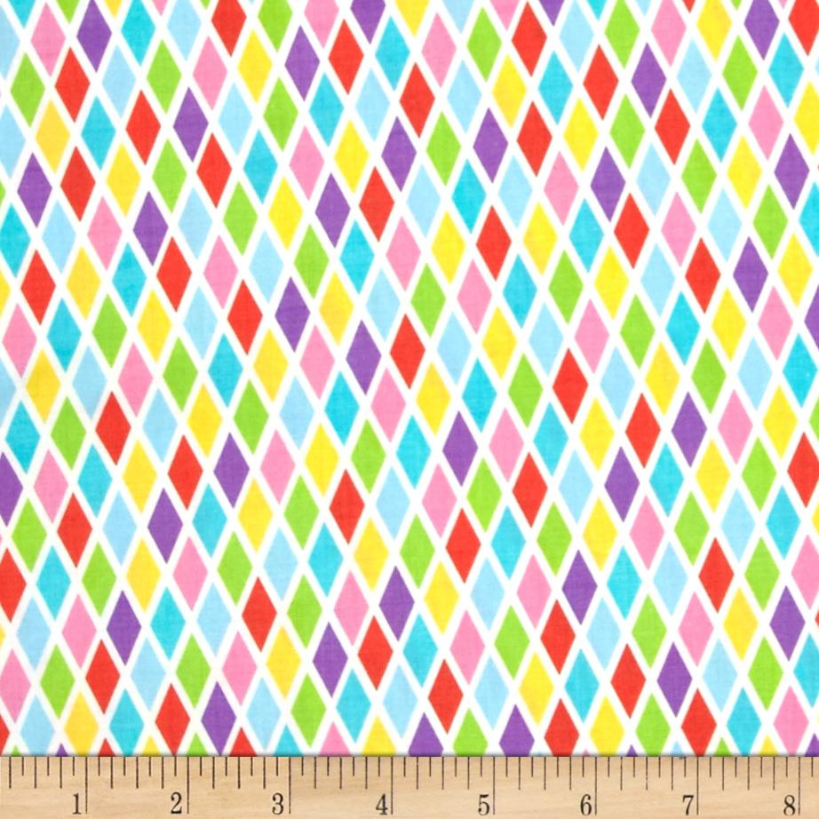 Michael miller kids rhombus yellow discount designer for Wholesale childrens fabric