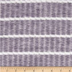 Lacey Sweater Knit Stripe Purple/White