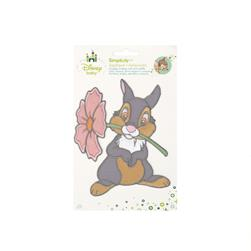 Disney Bambi Iron On Applique Thumper W/Flower