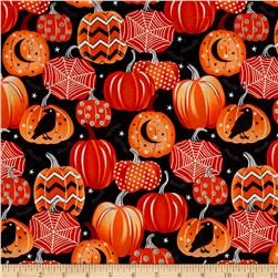 Fangtastic Glow In The Dark Pumpkins Black/Orange