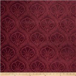 Fabricut Diomedes Chenille Moroccan Red