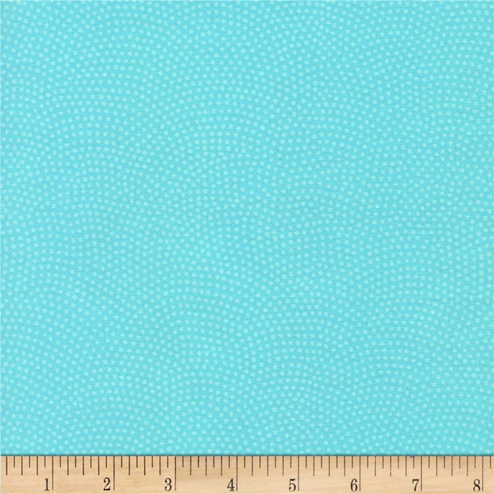 Timeless Treasures Dream Dots Aqua
