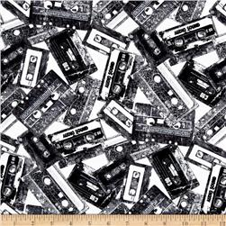 Rock Legends Cassettes Black/White