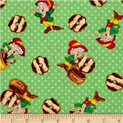 Kelloggs Keebler Elf with Fudge Striped Cookies Green
