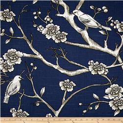 Dwell Studio Vintage Blossom Slub Twilight Fabric
