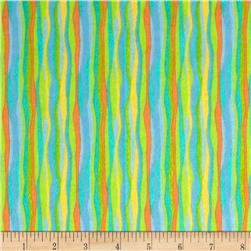 Lollipop Flannel Stripes Jade
