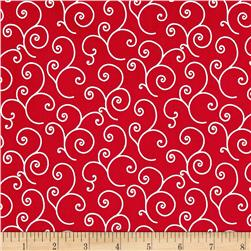 Maywood Studio Kimberbell Basics Scroll Red