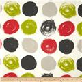 Dwell Studio Brushed Dot Poppy