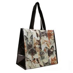 Insta-Totes Shopping Tote All Over Cats
