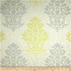 Waverly Romantic Rhyme Jacquard Sterling Fabric