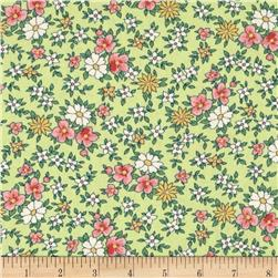 Pinafores & Petticoats Floral Harmony Green