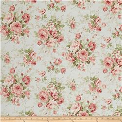 Kaufman Margeaux Large Flower Mint