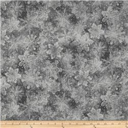 Holiday Accents Classics 2013 Metallic Large Snowflake Grey