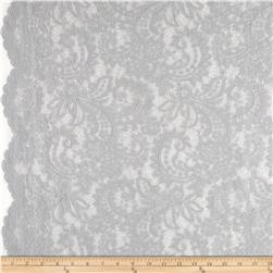 Amelia Stretch Lace Warm Grey