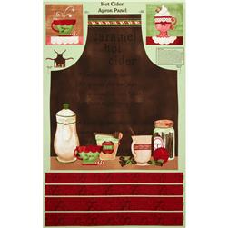 Hot Cider 30'' Apron Panel Multi Fabric