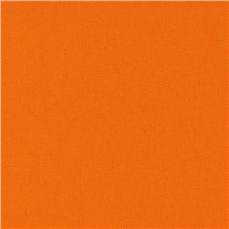 60'' Poly Poplin Orange Fabric