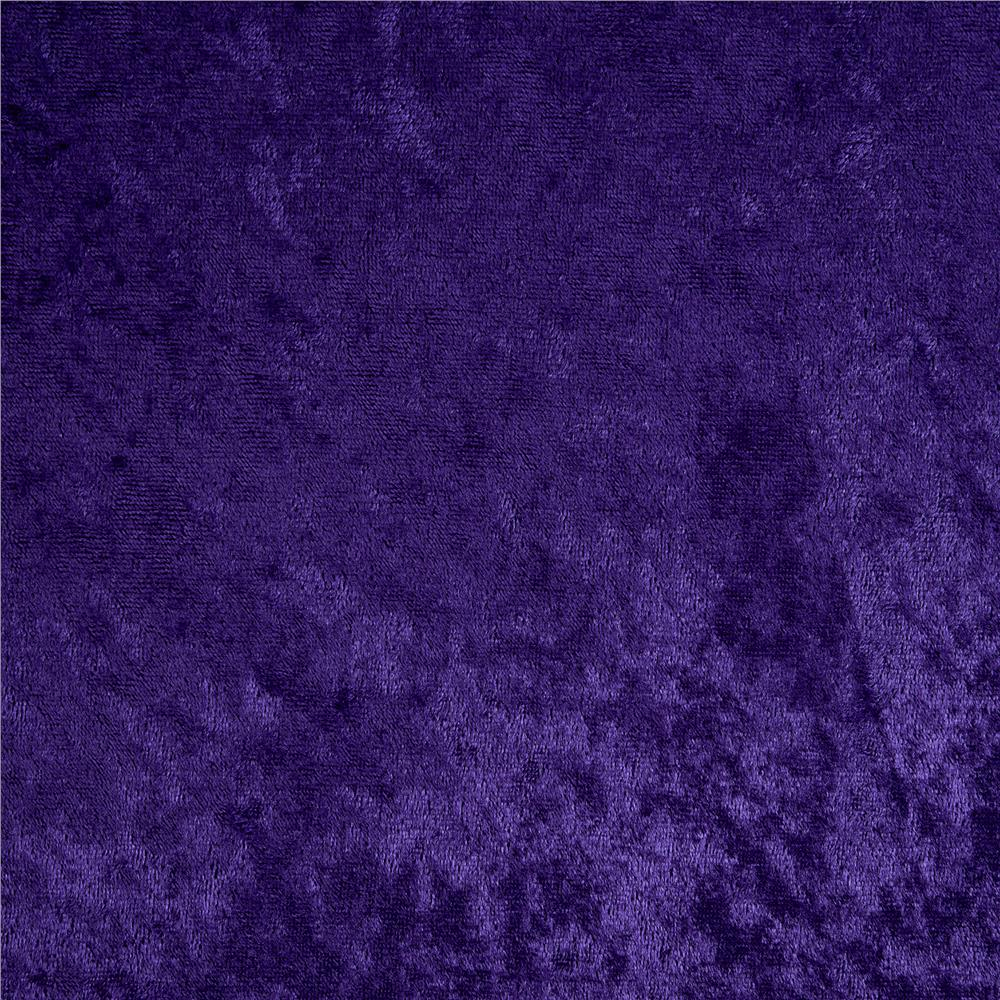 Stretch Panne Velvet Purple