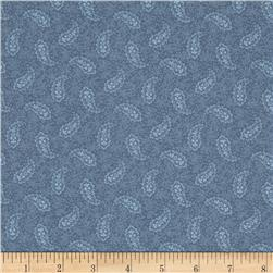 Pointe Pleasant Paisley Dark Blue