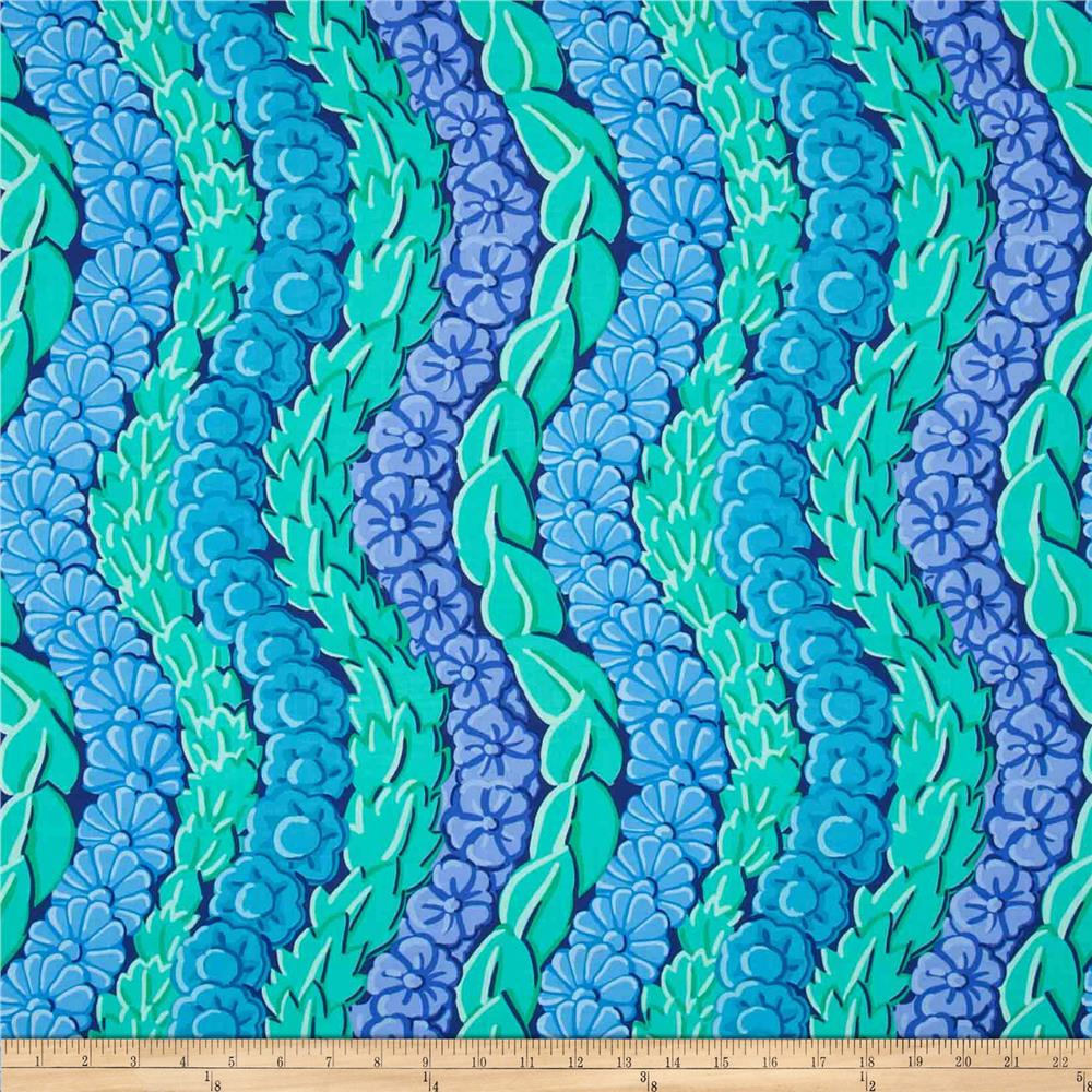 Kaffe Fassett Collective Serpentine Blue