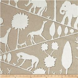Braemore Jungle Walk Linen Blend Natural