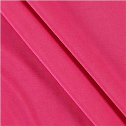 Poly Spandex Stretch ITY Knit Solid Bubblegum