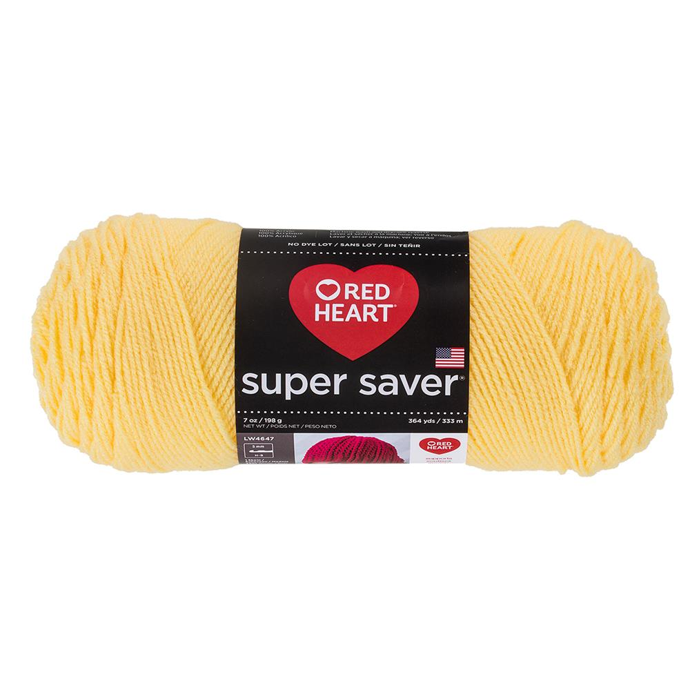 Red Heart Super Saver Yarn 235 Lemon