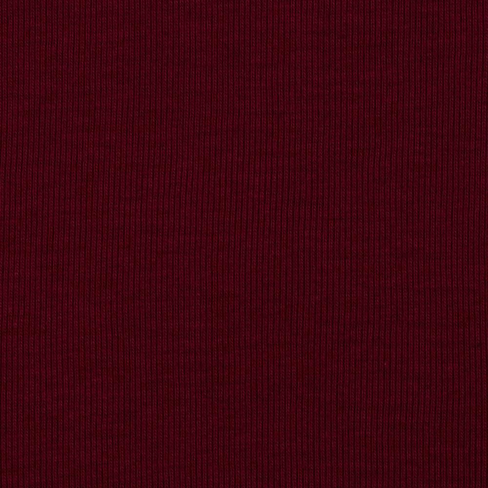 T-Knit Ribbing Burgundy