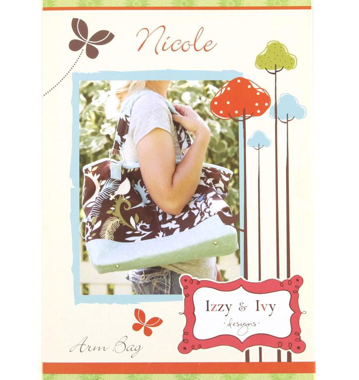 Izzy & Ivy Nicole Arm Bag Pattern Booklet