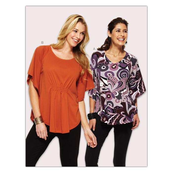 Kwik Sew Misses Batwing Top (3891) Pattern
